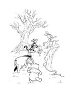 Winnie pooh da colorare 92
