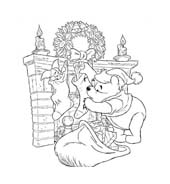Winnie pooh da colorare 128