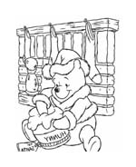Winnie pooh da colorare 131