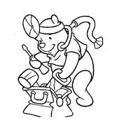 Winnie pooh da colorare 136