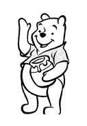 Winnie pooh da colorare 139