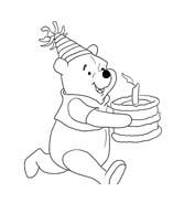 Winnie pooh da colorare 143