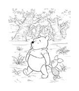Winnie pooh da colorare 146