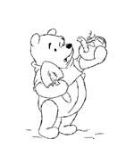 Winnie pooh da colorare 147