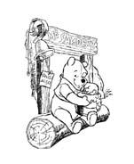 Winnie pooh da colorare 155
