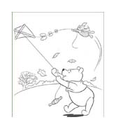 Winnie pooh da colorare 164