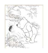Winnie pooh da colorare 165
