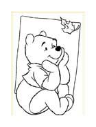 Winnie pooh da colorare 166