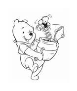 Winnie pooh da colorare 173