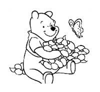 Winnie pooh da colorare 179