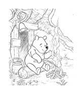 Winnie pooh da colorare 183