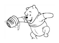 Winnie pooh da colorare 187