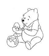 Winnie pooh da colorare 191