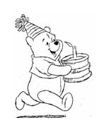 Winnie pooh da colorare 195