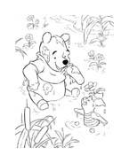 Winnie pooh da colorare 205