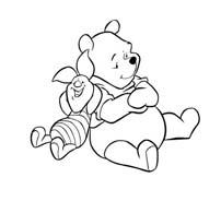 Winnie pooh da colorare 246