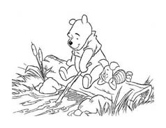 Winnie pooh da colorare 248