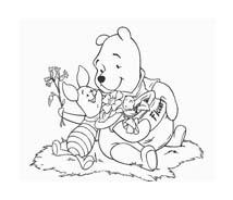 Winnie pooh da colorare 251