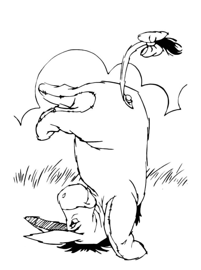Winnie pooh da colorare 268