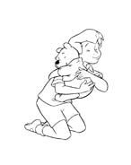 Winnie pooh da colorare 273