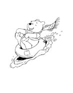 Winnie pooh da colorare 297