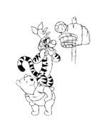 Winnie pooh da colorare 299