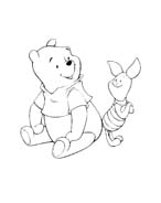 Winnie pooh da colorare 308