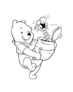Winnie pooh da colorare 317