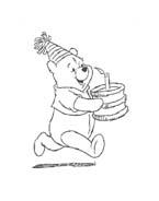 Winnie pooh da colorare 337