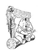 Winnie pooh da colorare 342