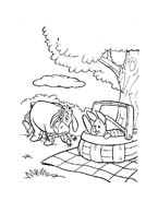 Winnie pooh da colorare 345