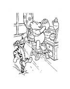 Winnie pooh da colorare 346