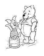 Winnie pooh da colorare 350