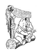 Winnie pooh da colorare 367