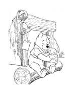 Winnie pooh da colorare 374