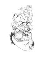 Winnie pooh da colorare 376
