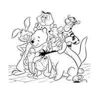 Winnie pooh da colorare 404