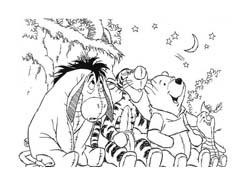 Winnie pooh da colorare 412