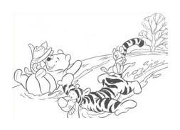 Winnie pooh da colorare 414