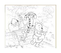 Winnie pooh da colorare 415