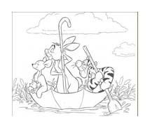Winnie pooh da colorare 419