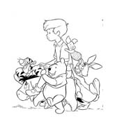 Winnie pooh da colorare 424