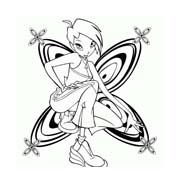 Winx da colorare 58