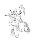 Witch da colorare 12