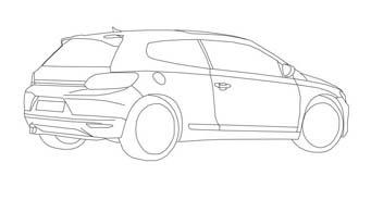 Automobile da colorare 422
