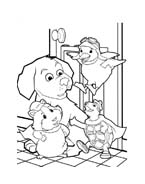 Wonder Pets da colorare 36