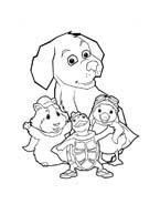 Wonder Pets da colorare 44