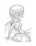 Wonder woman da colorare 6