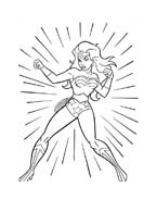 Wonder woman da colorare 18