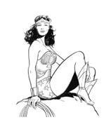 Wonder woman da colorare 36